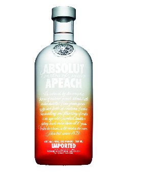 Absolut Vodka Apeach 40% 70 cl