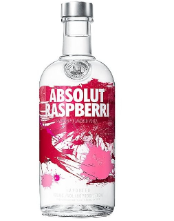 Absolut Vodka Raspberri 40% Vol. 70 cl Schweden
