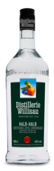 Distillerie Willisau Halb / Halb 43% Vol. 100 cl