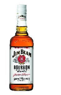 Jim Beam Bourbon Whiskey Kentucky Straight 40% Vol. 70 cl
