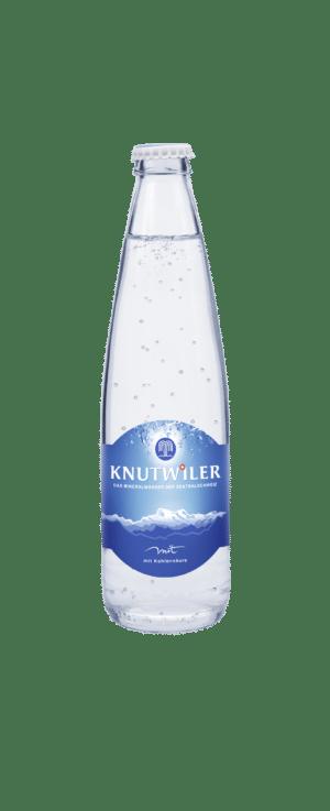 Knutwiler Mineral mit Kohlensäure 24 x 33 cl MW Flasche