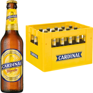 Cardinal Blonde 4,8% Vol. 24 x 33 cl MW Flasche