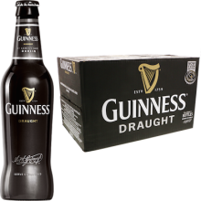 Guinness Draught 4,2% Vol. 24 x 33 cl EW Flasche Irland