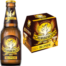 Grimbergen blonde 6,7% Vol. 6 x 25 cl EW Flasche Belgien