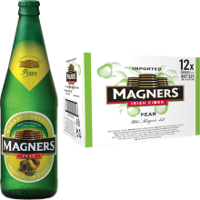 Magners Pear Cider 4,5% Vol. 12 x 56,8 cl EW Flasche Irland