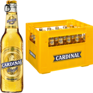 Cardinal Draft Original 4,7% Vol. 24 x 33 cl MW Flasche
