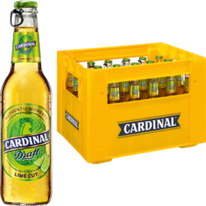 Cardinal Draft LIME CUT 4,6% Vol. 24 x 33 cl MW Flasche