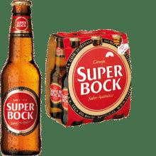Super Bock Lager 5,4% Vol. 24 x 25 cl EW Flasche