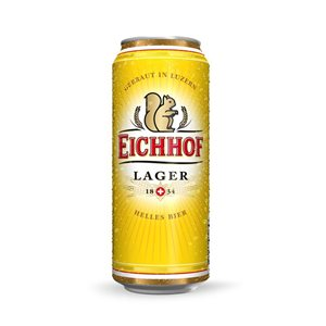 Eichhof Lager 4,8% Vol. 12 x 50 cl Dose