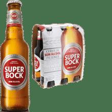 Super Bock alkoholfrei 24 x 33 cl EW Flasche