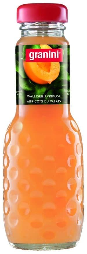 Granini Walliser Aprikosen Nektar 6 x 20 cl EW Glas