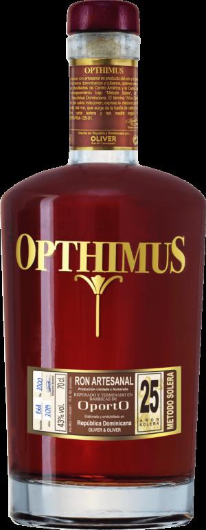 Opthimus Rum 25 years Port Finish 43% Vol. 70 cl Dominikanische