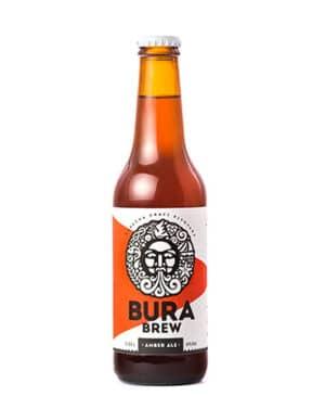 Bura Brew Amber Ale 5,8% Vol. 24 x 33cl EW Flasche Kroatien