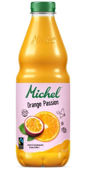 Michel Orange Passion Fairtrade 4 x 100cl PET