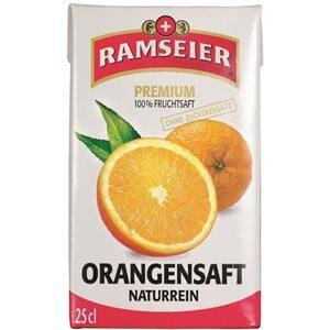 Ramseier Premium 100% Orangensaft 27 x 25 cl Tetra