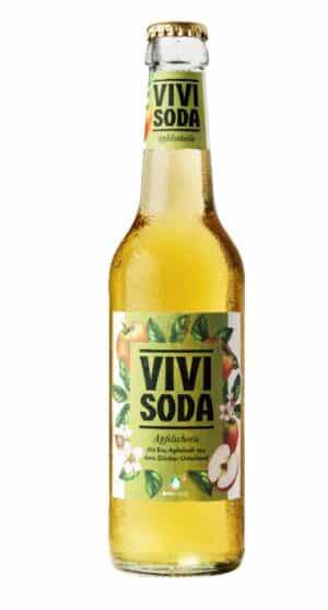 Vivi Soda Apfelschorle 24 x 33 cl MW Flasche