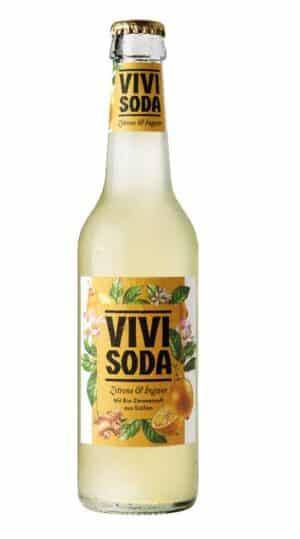 Vivi Soda Ingwer / Zitrone 24 x 33 cl MW Flasche