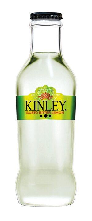 Kinley Bitter Lemon 24 x 20 cl EW Glas