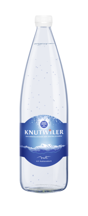 Knutwiler Mineral mit Kohlensäure 12 x 100 cl MW Flasche