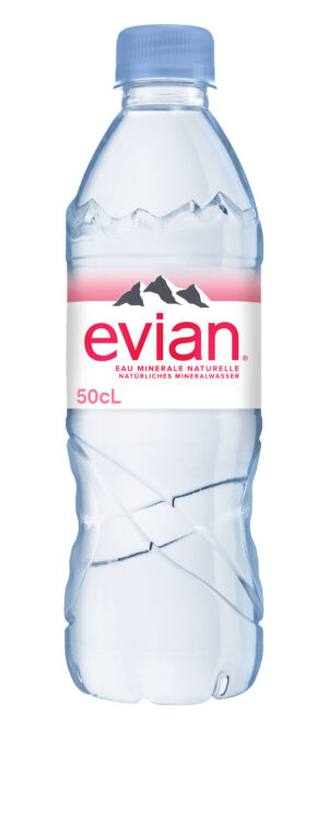Evian 24 x 50 cl PET