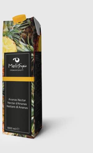 Meli Ananas / Nektar Saft 90% 12 x 100 cl Tetra