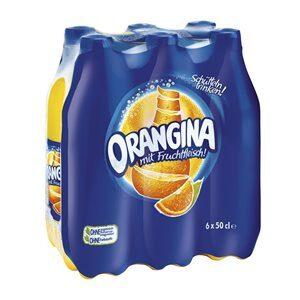 Orangina Original mit Fruchtfleisch 24 x 50 cl PET