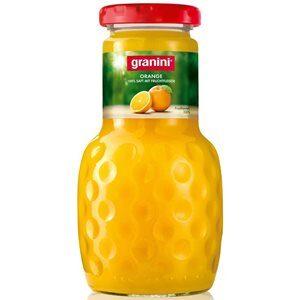 Granini Reiner Orangensaft 6 x 20 cl EW Glas