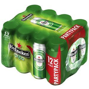 Heineken Premium Bier 5,0% Vol. 12 x 50 cl Dose