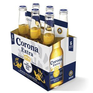 Corona Extra Beer 4,5% Vol. 6 x 35,5 cl EW Flasche Mexico