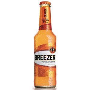 Bacardi Breezer Orange 4% Vol. 24 x 27,5 cl EW Flasche