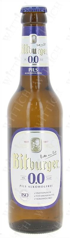 Bitburger Premium Alkoholfrei 0.0% Vol. 24 x 33 cl MW Flasche