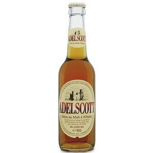 Adelscott Whisky Beer 5,8% Vol. 24 x 33 cl EW Flasche Frankreich