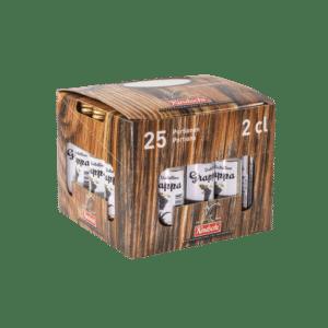 Kindschi Grappa Valtellina 40% Vol. 25 x 2 cl