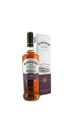 Whisky Bowmore Single Malt Islay 18 years old 43% Vol. 70 cl