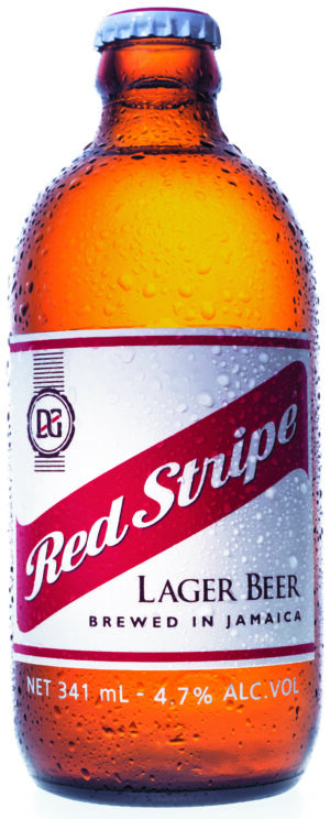 Red Stripe Beer of Jamaica 4,7% Vol. 24 x 34,1 cl EW Flasche Jamaica