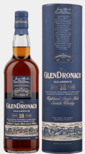 Glendronach 18 years Single Malt Allardice Oloroso Sherry Cask 46% Vol. 70 cl