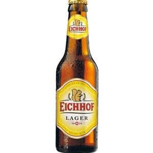 Eichhof Lager 4,8% Vol. 24 x 33 cl MW Flasche