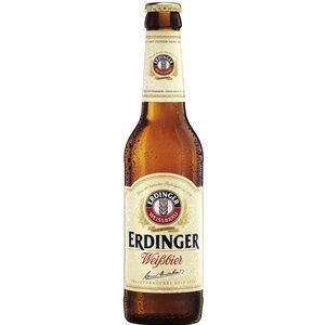 Erdinger Weissbier mit feiner Hefe 5,3% Vol. 24 x 33 cl MW Flasche