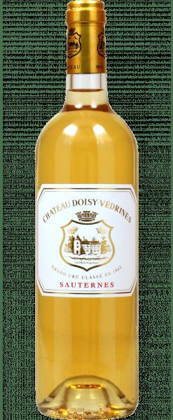 Château Doisy-Védrines 2ème cru classé Sauternes AOC 13.5% Vol. 75cl 2015