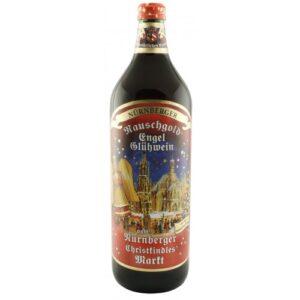 """Nürnberger Glühwein """"rot"""" Rauschgold Engel 10% Vol. 100 cl"""