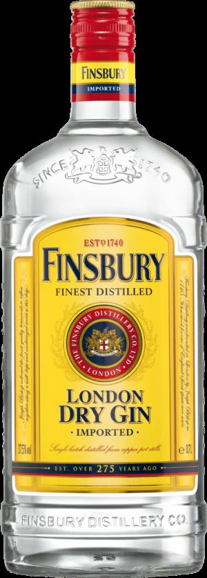Gin Finsbury London Dry Gin Classic 37% Vol. 70 cl