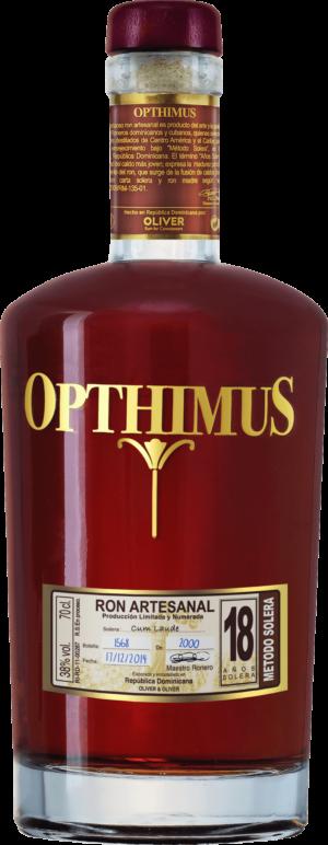 Opthimus Rum 18 Years 38.0% Vol.70 cl Dominikanische