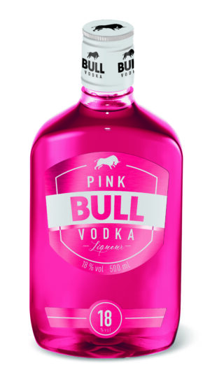 Pink Bull Vodka Liqueur 18% Vol. 50 cl PET