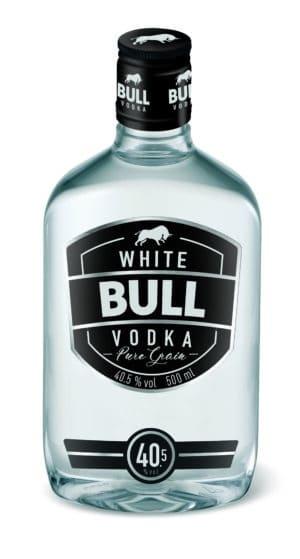 White Bull Vodka 40,5% Vol. 50 cl Pet