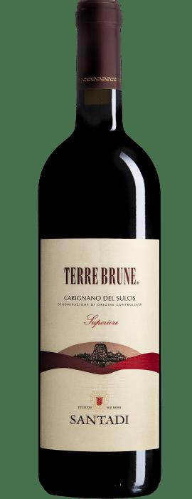 Cantina di Santadi  Terre Brune DOC Carignano del Sulcis 14.5% Vol. 75cl 2015