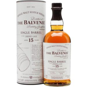 The Balvenie 15 Years Single Barrel Sherry Cask Malt Scotch 48% Vol. 70cl