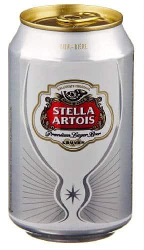 Stella Artois Lager / Pilsener 5% Vol. 24 x 33 cl Dose Belgien