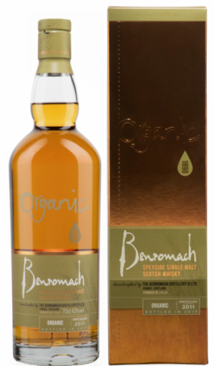 Benromach Organic 2011 Single Malt Scotch Whisky 43% Vol. 70 cl