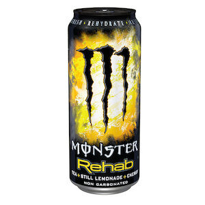 Monster Rehab Tee + Lemon + Energy 24 x 35,5 cl Dose
