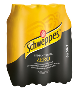 Schweppes Indian Tonic Zero 24 x 50cl PET